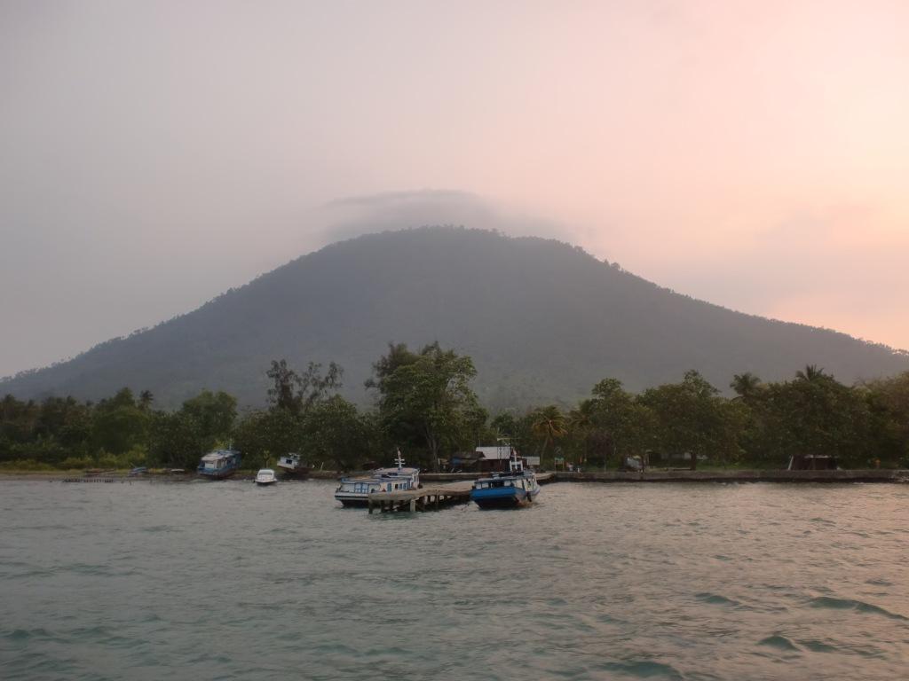 Pulau Sebesi, tempat kami bermalam