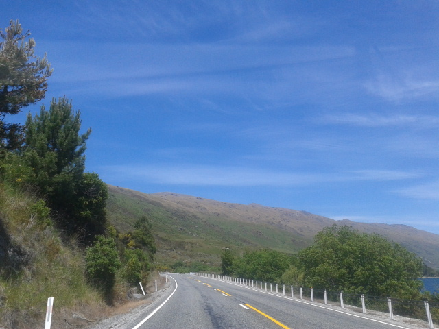 Dalam perjalanan menuju Te Anau