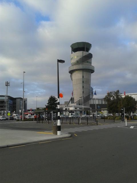 Menara Pengawas CHC Airport