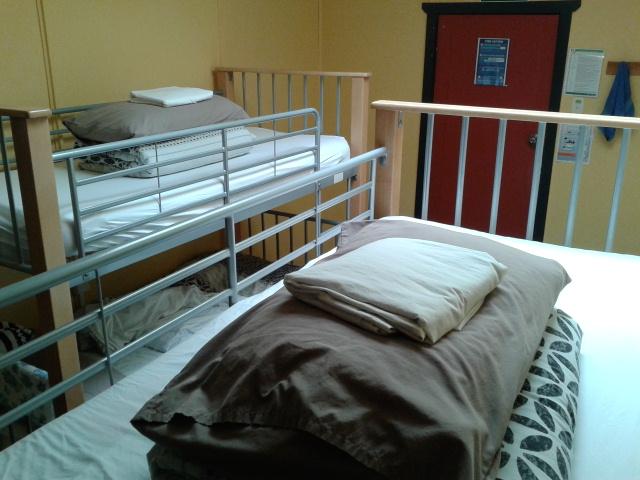 5 bed female dorm YHA Lake Tekapo