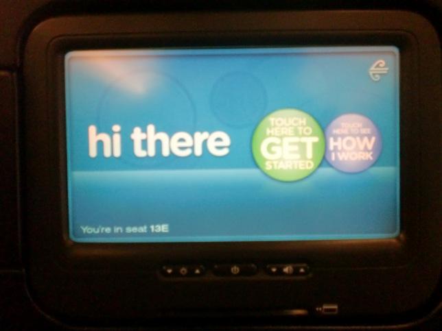 Air NZ Inflight Entertainment, kalo mau nonton film terbaru kudu bayar lagi