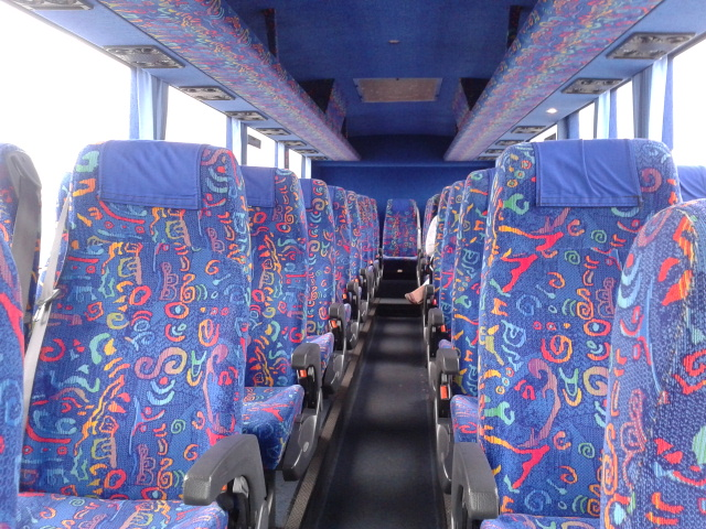 Interior Intercity Bus