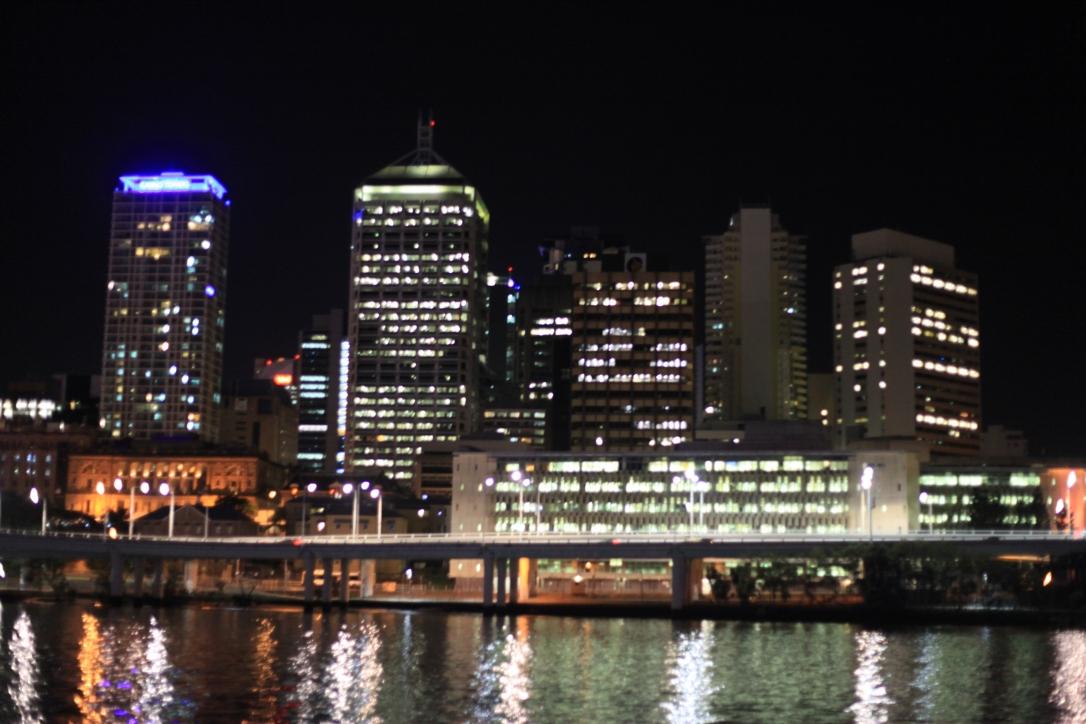 Brisbane di malam hari