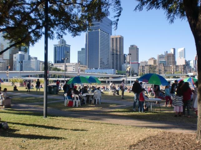 Di samping Brisbane River