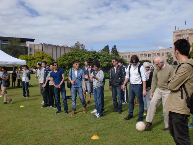 Farewell party di kampus UQ
