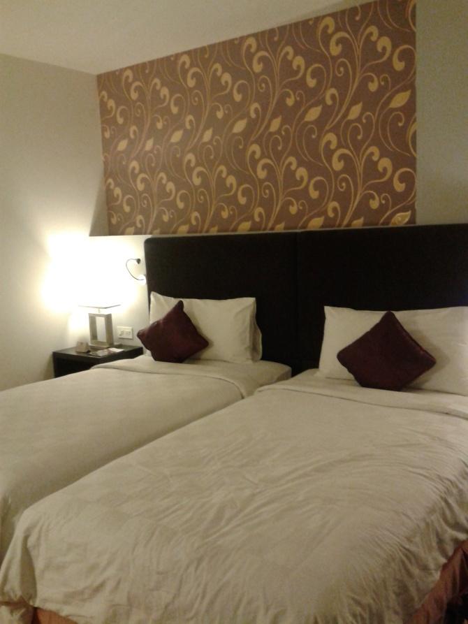Kamar saya di hotel Mercure, gratisaaaan