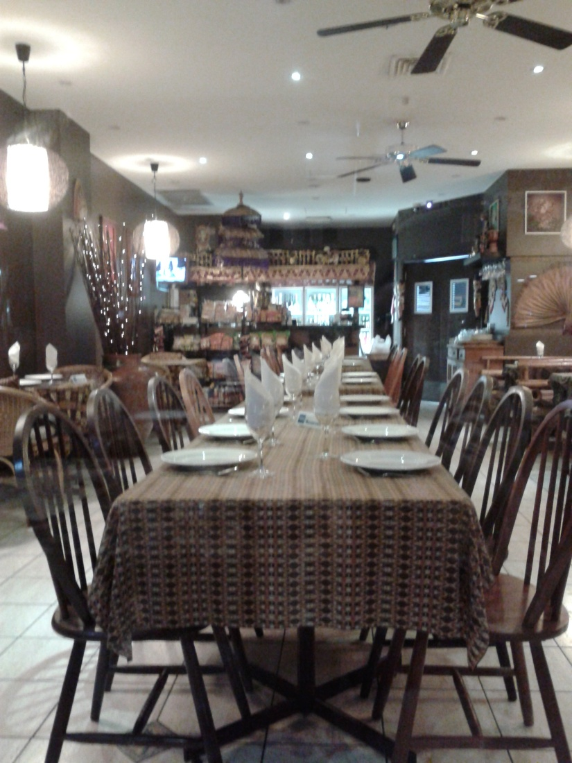 Interior Jakarta Indonesian Restaurant