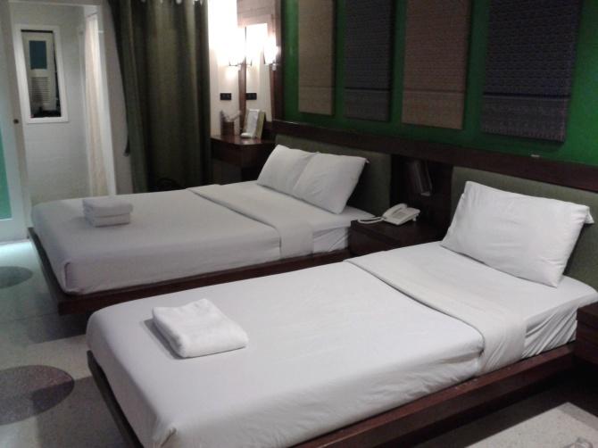 Kamar saya di salah satu hotel di Bangkok, lupa di hotel apa. Bukan gratisan, bayar sendiri