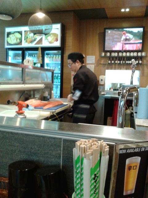 Mengamati chef bekerja