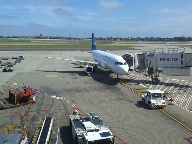 Pesawat ke New Zealand