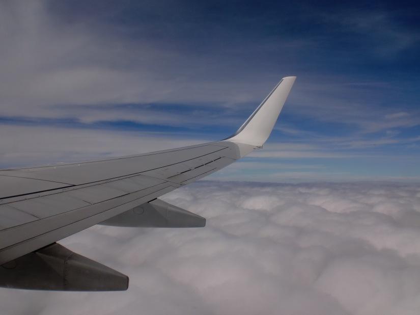 Sayap pesawat Virgin Australia Airlines