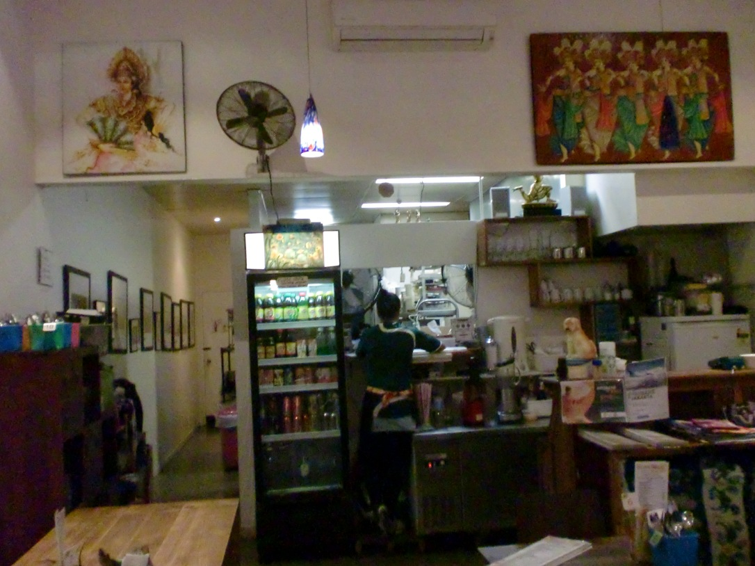 Interior Makanan Indonesia