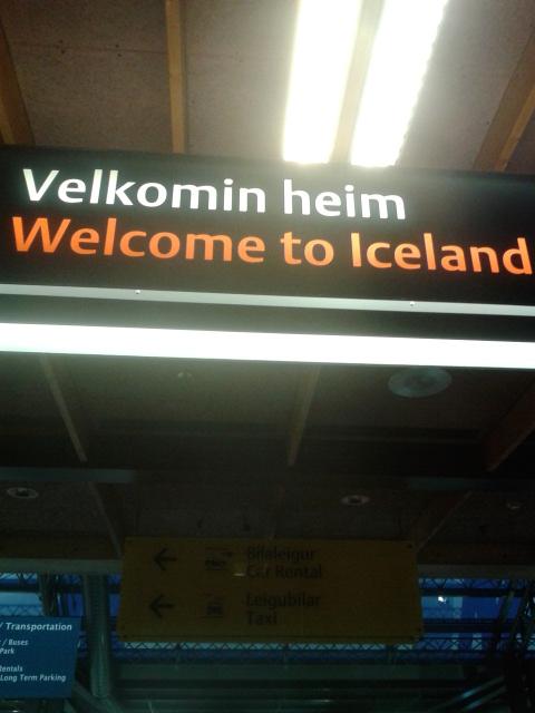 Selamat datang di Islandia!