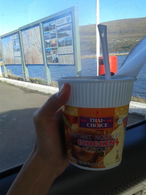 Pertolongan pertama saat kelaparan di Akureyri